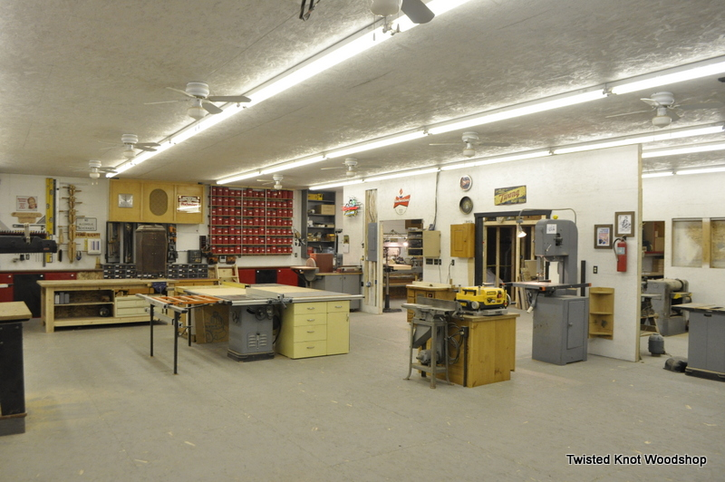 Woodshop Space Rental And Woodworking Classes