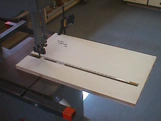 Bandsaw Jig For Cutting Circles